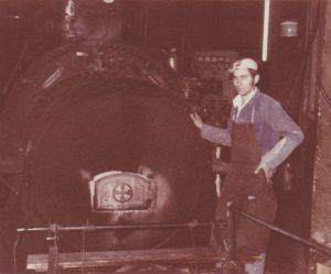 Eigene Energieerzeugung-Dampfkessel Baujahr 1936