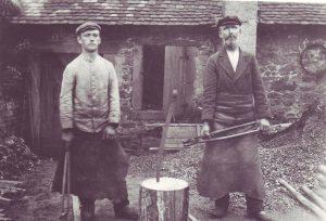 Georg Nikolaus Kurtz,(1851-1922) mit Sohn Philipp (1887-1964)